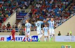 VIDEO U22 Việt Nam 0-5 U20 Argentina: Xứng danh ứng viên vô địch U20 World Cup