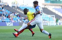 FIFA U20 Thế giới 2017, U20 Ecuador 3-3 U20 Mỹ: Màn rượt đuổi tỷ số hấp dẫn