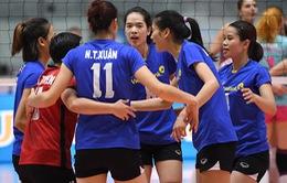 Ngân hàng Công Thương không tạo được bất ngờ ở tứ kết giải bóng chuyền nữ các CLB châu Á