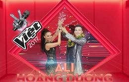 Ali Hoàng Dương: Ngôi vị quán quân Giọng hát Việt như một giấc mơ
