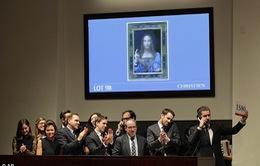 Tranh của Leonardo da Vinci bán với giá đắt nhất trong lịch sử