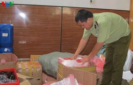 Gia Lai: Phát hiện cơ sở sản xuất mỹ phẩm giả quy mô lớn