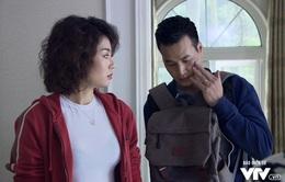 """Tập 19 phim Người phán xử: Vấp vào nắm đấm của vợ, Khải """"sở khanh"""" thâm tím mặt mày"""