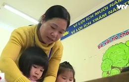Nỗi niềm của giáo viên xuống dạy mầm non bỏ nghề