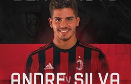 Chuyển nhượng bóng đá quốc tế ngày 13/6/2017: Andre Silva CHÍNH THỨC gia nhập AC Milan
