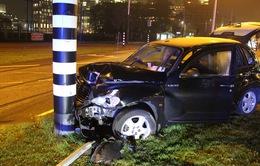 Aguero trấn an người hâm mộ sau tai nạn ô tô kinh hoàng