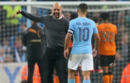 """Man City vào vòng 1/8 Champions League, Pep Guardiola vẫn lo """"ngay ngáy"""""""