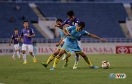 Vòng 16 giải VĐQG V.League 2017: CLB Hà Nội 2-3 S.Khánh Hòa BVN, B.Bình Dương 3-4 SHB Đà Nẵng, Than QN 2-1 CLB Long An ...