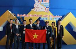 Tuyển Việt Nam giành 3 HCV, 1 HCB tại Olympic Hóa học quốc tế 2017