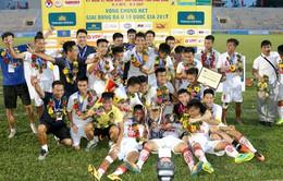 VCK U19 quốc gia 2017: Ngược dòng trước U19 PVF, U19 Hà Nội bảo vệ thành công ngôi vô địch