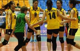 Giải bóng chuyền nữ quốc tế VTV9 - Bình Điền 2017: Vân Nam (Trung Quốc) và VTV Bình Điền Long An vào bán kết