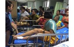 Nổ pháo hoa ở Thái Lan, nhiều học sinh bị thương