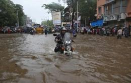 Thành phố Mumbai (Ấn Độ) chìm trong nước lũ