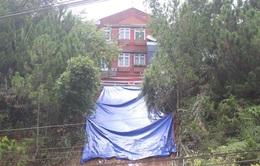 Đà Lạt: Sạt lở chung cư, hàng chục hộ dân lo lắng