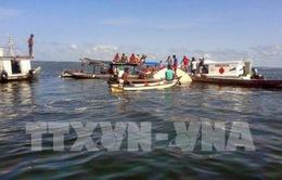 Số nạn nhân vụ chìm tàu tại Brazil tăng mạnh