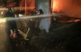 Hiện trường cháy lớn trong khu công nghiệp Tân Bình, TP.HCM