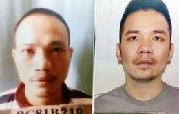 Tạm đình chỉ công tác 13 cán bộ, chiến sỹ liên quan đến vụ 2 tử tù trốn trại