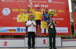 Nguyễn Cường Khang giành áo vàng chung cuộc giải đua xe đạp Cúp Báo QĐND