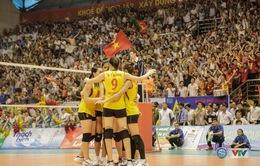 ĐT bóng chuyền nữ Việt Nam thắng kịch tính Kazakhstan ở vòng phân hạng Cúp châu Á
