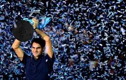 Federer năm thứ 12 liên tiếp nằm trong top những tay vợt kiếm nhiều tiền nhất thế giới