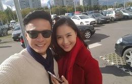 Diễn viên Hồng Diễm lo sợ khi quay lại đóng cặp với Hồng Đăng