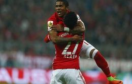 Bayern Munich giành vé vào tứ kết Cúp Quốc gia Đức