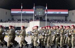 Iraq duyệt binh ở Baghdad mừng đánh bại IS