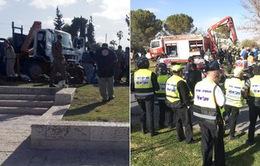 Israel: Tấn công bằng xe tải ở Jerusalem, ít nhất 4 người thiệt mạng