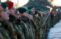 NATO điều nhóm quân đầu tiên tới Litva