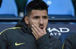 Bị Pep ngó lơ, Aguero thành mồi ngon của Real Madrid và Barcelona