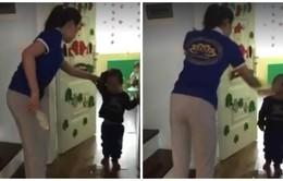 Bộ GD&ĐT yêu cầu làm rõ vụ cô giáo mầm non Sen Vàng bạo hành trẻ