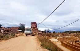 Kon Tum cương quyết xử lý khai thác đất sét trái phép