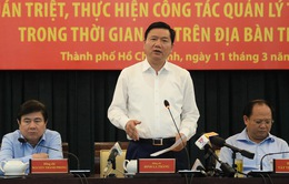 Bí thư Thành ủy TP.HCM: Giành lại vỉa hè khó mấy cũng phải làm