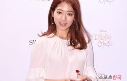 Park Shin Hye đẹp lộng lẫy trong buổi ra mắt phim Người đẹp và quái vật