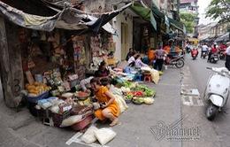 Vỉa hè, lòng đường Hà Nội bị tái lấn chiếm
