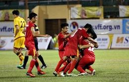 Chung kết giải U19 Quốc tế: U19 Việt Nam giành ngôi vô địch trong thế trận thiếu người