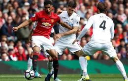 TRỰC TIẾP Swansea - Man Utd: Quỷ đỏ củng cố ngôi đầu (18h30 hôm nay)