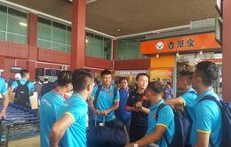 ĐT Việt Nam đã tới Campuchia, sẵn sàng cho trận đấu thứ 3 ở vòng loại Asian Cup 2019