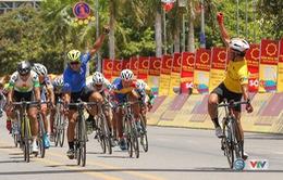 Video: Toàn cảnh chặng 5 giải đua xe đạp quốc tế VTV Cúp Tôn Hoa Sen 2017