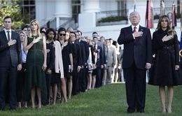 Vợ chồng Tổng thống Mỹ Donald Trump tưởng niệm nạn nhân vụ 11/9