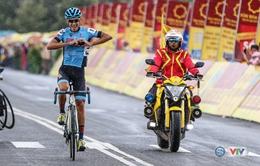 Giải xe đạp quốc tế VTV Cúp Tôn Hoa Sen 2017: Javier Sarda Perez giành chiến thắng chặng 12