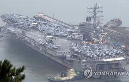 Mỹ-Hàn bắt đầu tập trận hải quân quy mô lớn