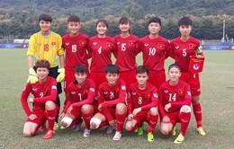 VCK U19 nữ châu Á 2017 (bảng B): ĐT nữ Việt Nam 0-5 U19 nữ Hàn Quốc
