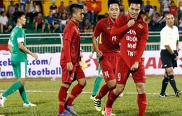 VIDEO: Những diễn biến chính hiệp một U23 Macau (Trung Quốc) - U23 Việt Nam