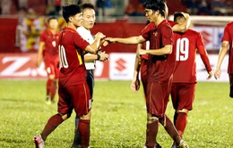 VIDEO: Tuấn Anh sút xa ghi bàn đẹp mắt cho U23 Việt Nam