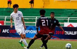 U23 Timor Leste 0-0 U23 Hàn Quốc: Chia điểm bất ngờ!