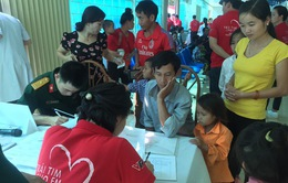 Khám sàng lọc bệnh tim bẩm sinh miễn phí cho trẻ em tại tỉnh Đăk Nông
