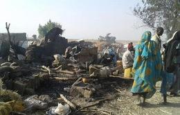 Quân đội Nigeria không kích nhầm, 170 người thương vong