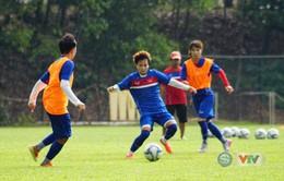 Ảnh: ĐT bóng đá nữ tập buổi đầu tiên tại Malaysia, sẵn sàng cho SEA Games 29