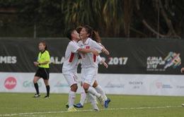 Bóng đá nữ SEA Games 29: Việt Nam 3-0 Philippines - Mệt nhưng đáng!